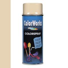 Motip Colorspray hoogglanslak RAL 1015 licht ivoorkleurig - 400 ml.