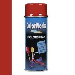 Motip Colorspray hoogglanslak RAL 3000 vuurrood - 400 ml.