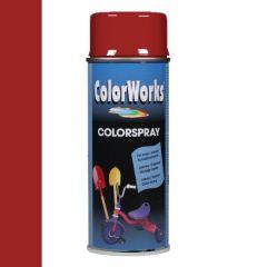 Motip Colorspray hoogglanslak RAL 3002 karmijnrood - 400 ml.