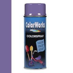 Motip Colorspray hoogglanslak RAL 4005 blauwlila - 400 ml.