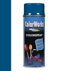 Motip Colorspray hoogglanslak RAL 5010 gentiaanblauw - 400 ml.