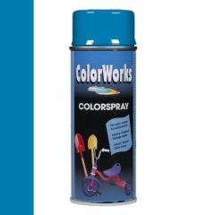 Motip Colorspray hoogglanslak RAL 5015 hemelsblauw - 400 ml.