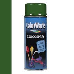Motip Colorspray hoogglanslak RAL 6002 loofgroen - 400 ml.