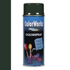 Motip Colorspray hoogglanslak RAL 6009 dennengroen - 400 ml.