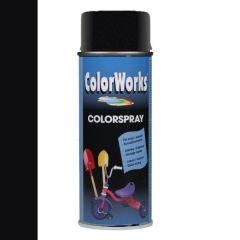 Motip Colorspray zijdeglanslak RAL 9010 zuiver wit - 400 ml.