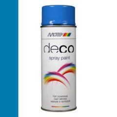 Motip deco alkyd hoogglans lak RAL 5015 hemelsblauw - 400 ml.