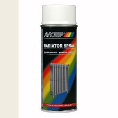 Motip radiatorlak wit - 400 ml.