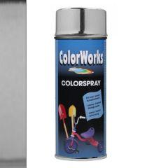 Motip Colorspray hoogglanslak goud chroomeffect - 400 ml.