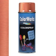 Motip Colorspray hoogglanslak koper - 400 ml.