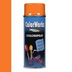 Motip Colorspray hoogglanslak RAL 2003 pastel oranje - 400 ml.