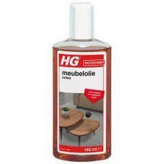 HG verzorgende meubelolie noten, pallisander en wengé