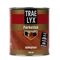 Trae-Lyx parketlak mat - 750 ml.