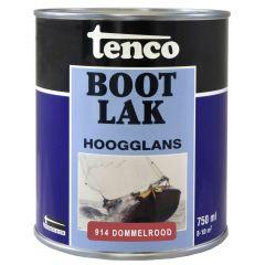 Tenco bootlak dommelrood 914 - 750 ml.
