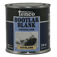 Tenco bootlak blank 910 - 750 ml.