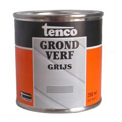Tenco grondverf grijs - 250 ml.