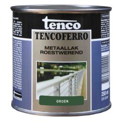 Tenco ferro roestwerende ijzerverf groen - 250 ml.
