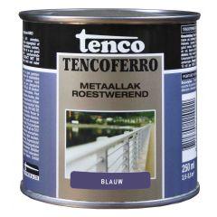Tenco ferro roestwerende ijzerverf blauw - 250 ml.