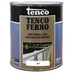 Tenco ferro roestwerende ijzerverf wit - 750 ml.
