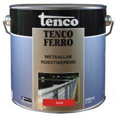 Tenco ferro roestwerende ijzerverf rood - 2,5 liter