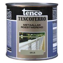 Tenco ferro roestwerende ijzerverf grijs - 250 ml.