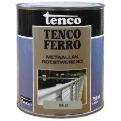 Tenco ferro roestwerende ijzerverf grijs - 750 ml.