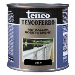 Tenco ferro roestwerende ijzerverf zwart - 250 ml.