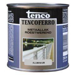Tenco ferro roestwerende ijzerverf aluminium - 250 ml.