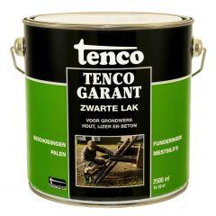 Tencogarant zwarte lak - 2,5 liter