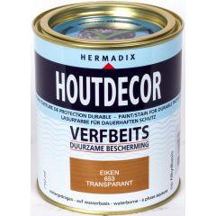 Hermadix houtdecor verfbeits eiken - 750 ml.