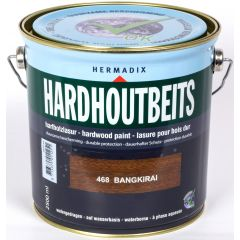 Hermadix hardhoutbeits bangkirai - 2,5 liter