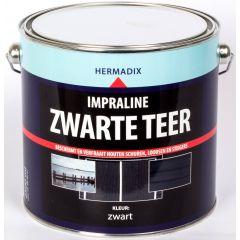 Hermadix impraline zwarte teer - 2,5 liter