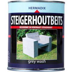 Hermadix steigerhoutbeits grey wash - 750 ml.
