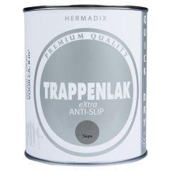 Hermadix trappenlak extra anti-slip taupe - 750 ml.