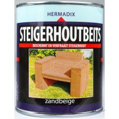 Hermadix steigerhoutbeits zandbeige - 750 ml.