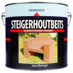 Hermadix steigerhoutbeits zandbeige - 2,5 liter