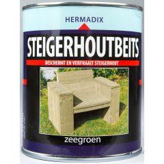 Hermadix steigerhoutbeits zeegroen - 750 ml.