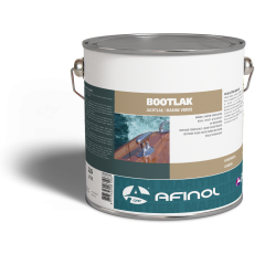 Afinol bootlak blank hoogglans - 2,5 liter