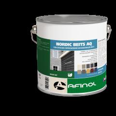 Afinol nordic beits AQ taupe dark - 2,5 liter