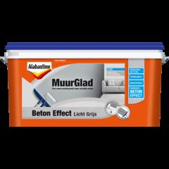 Alabastine muurdecor beton effect authentiek beton - 5 liter