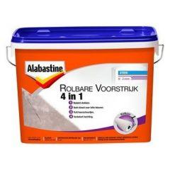 Alabastine rolbare voorstrijk alles in 1 - 5 liter