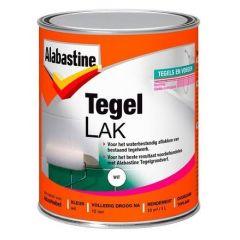 Alabastine tegellak (1 component) wit - 1 liter