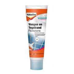 Alabastine voegen & tegelrand reparatie