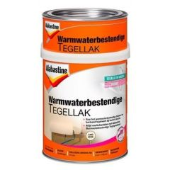 Alabastine warmwaterbestendige tegellak (2 componenten) zandbeige - 750 ml.