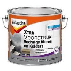 Alabastine xtra voorstrijk vochtige muren & kelders - 2,5 liter