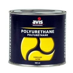Avis Polyurethane blanke lak zijdeglans - 500 mL