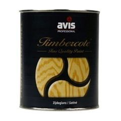 Avis Timbercote blanke lak zijdeglans - 500 mL