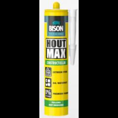 Bison professional hout max constructielijm (D4) - 380 gram