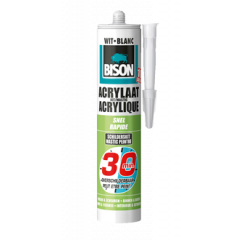Bison acrylaatkit snel 30 min. wit - 310 ml.