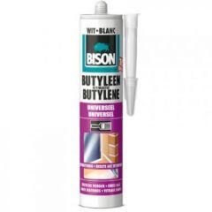 Bison butyleenkit wit - 310 ml.