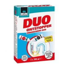 Bison duo ontstopper - 2 x 500 ml.